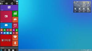 Desktop Design Modern Design And Evolution Windows 9 Concept Mixes The