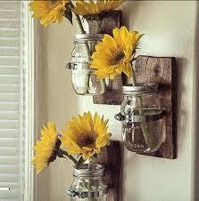 majestic design ideas mason jar wall decor 3 country style vases awesome hanging vase great blue