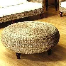 square woven coffee table wicker trunk the most beautiful storage tables distresse square outdoor wicker coffee table