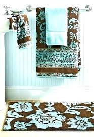 blue bath rug bathroom and brown ideas decor luxury best rugs tiffany ruger 9mm for that rock images on ii