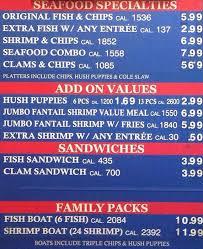 Arthur Treachers Fish Chips Menu Urbanspoon Zomato