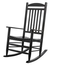 black wood rocking chair brilliant hampton bay outdoor 2 1 1200 the home depot intended for 3