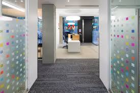 hulu corporate office share. notice the adobe icons on glass wallsu2026 hulu corporate office share o