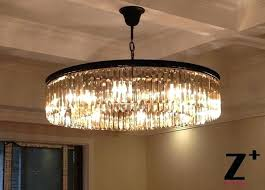 glass prism chandelier replica item industrial diam clear glass prism round young house love mercury glass