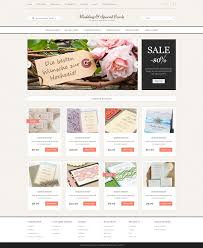 Wedding Cards Store Opencart Template 51799