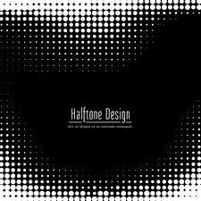 抽象ハーフトーンデザイン背景 素材 シンプル豊かな抽象ハーフトーン