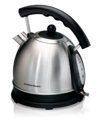 Electric Kitchen Appliances List Amazoncom Hamilton Beach 17l Stainless Steel Electric Kettle