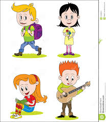 hobbies for kids. royalty-free vector hobbies for kids o