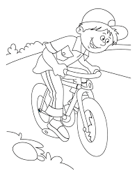 Small Picture mountain bike coloring page Download Free mountain bike coloring