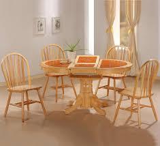 damen natural wood dining table