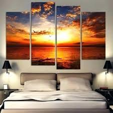 sunset wall art sunset canvas wall art sunset at beach multi panel canvas sunset beach canvas on sunset wall art canvas with sunset wall art sunset canvas wall art sunset at beach multi panel