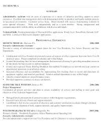 Administrative Assistant Resume Objective Sample Administrative