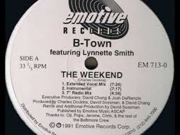 B-Town Featuring Lynnette Smith - The Weekend - 1991 - YouTube