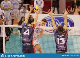 Volleyball Italian Serie A Men Superleague Championship Top Volley Latina  Vs Vero Volley Monza Editorial Photo - Image of italian, latina: 163565826