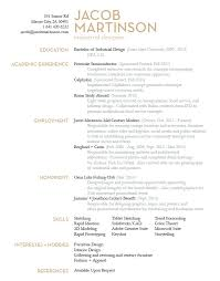 Jacob Martinson Industrial Design Resume With Industrial Skills For Resume  And Product Designer Resume