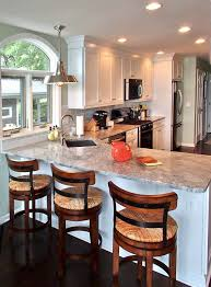 renovators-supply-Kitchen-Traditional-with-angled-sink-barstools-breakfast- bar-corner-sink