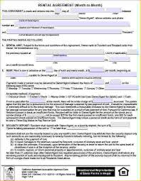 13+ California Rental Agreement Form | Pay Stub Template