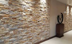 image of stone veneer interior walls