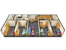 building floor plan pdf 4 bedroom floor plans 2d 3d top 3d side