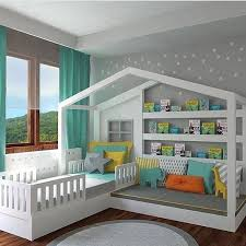 Bed with a Reading Nook...these are the BEST Reading Nook Ideas!
