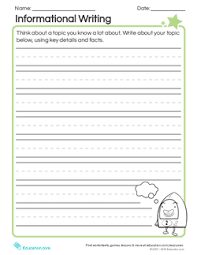 Topic Chart For Writing Writing From The Heart Lesson Plan Education Com