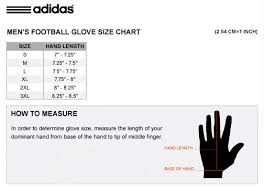 Goalkeeper Glove Size Chart Adidas Junior Goalkeeper Glove Size Chart Images Gloves