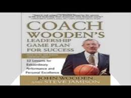 Coach Wooden's Leadership Game Plan For Success Coach Woodens Leadership Game Plan for Success 100 Lessons for 28