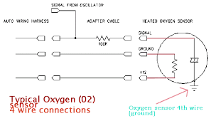 1pcs o2 oxygen sensor downstream or upstream new for honda accord 4 wire o2 sensor wiring diagram honda at 2002 Acura Tl Type S Oxygen Sensor Wiring Diagram