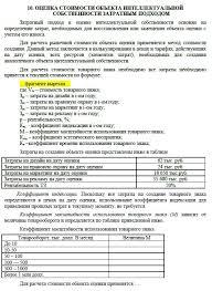 Репетитор оценщика Курсовая Оценка стоимости исключительных  Стоимость данной курсовой работы 1500 руб Для приобретения пишите expert rsa mail ru