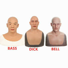 <b>Artificial Simulated</b> Human <b>Face Silicone</b> Mask Skin for Cosplay ...