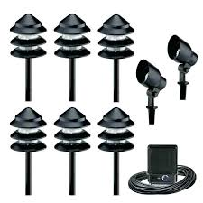 led landscape lighting sets outdoor low voltage landscape lighting kits outdoor landscape lighting kits a low
