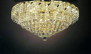 crystal drum flush ceiling light chandelier and large size of john cg gallery french empire