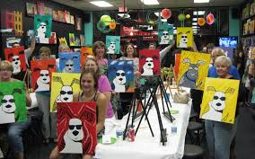 pips painting pub in wyandotte offers unique art classes for s kids 0