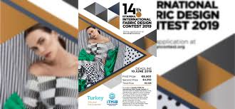 Fabric Design Contest 14th Istanbul International Fabric Design Contest 2019