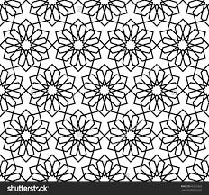 Arabesque Pattern Delectable Stockvectorislamicpatternabstractgeometricpatternvector
