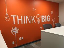 think big wall decal