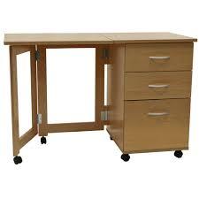 flipp 3 drawer folding office storage filing desk workstation oak co uk kitchen home