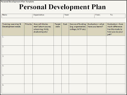 personal development plans sample personal development plan template oyle kalakaari co