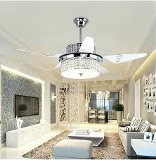 beautiful design crystal chandelier ceiling fan 26