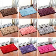 strong absorbent non slip kitchen rug and carpet super soft chenille gy latex backing solid home decorator mats rug rug strong absorbent non slip