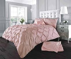 stylish alford soft pink duvet quilt cover set linens range