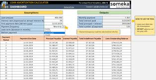 House Amortization Payment Calculator Loan Amortization Calculator Freedule In Excel Ss2 Template