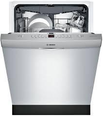 bosch silence plus 44 dba. Bosch 300 DLX Series SHS863WD5N - Open View Stainless Steel Silence Plus 44 Dba O