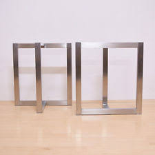 stainless steel legs for furniture.  furniture table legs stainless steelbrushed steel legshandmade in  us and for furniture