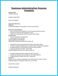 Sample Resume Business Administration Major Resume Ixiplay Free