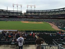 Comerica Park Section 149 Home Of Detroit Tigers