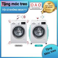 Chống rung máy giặt - 4 miếng cao su 1 2 3 tầng - Kệ máy giặt - Chân đế máy  giặt - Chống ồn máy giặt - Phụ kiện giặt ủi