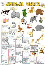 13 best The animals worksheets - ESL English images on Pinterest ...