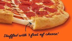 Cheese Filled Pepperoni Pizzas Extramostbestest Stuffed Crust Pizza