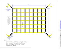 diy cargo net ideas